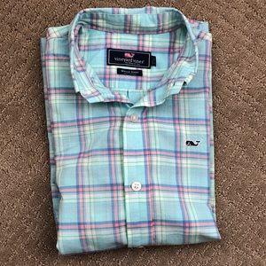 EUC Vineyard Vines Boys Dress Shirt (S/8/10)